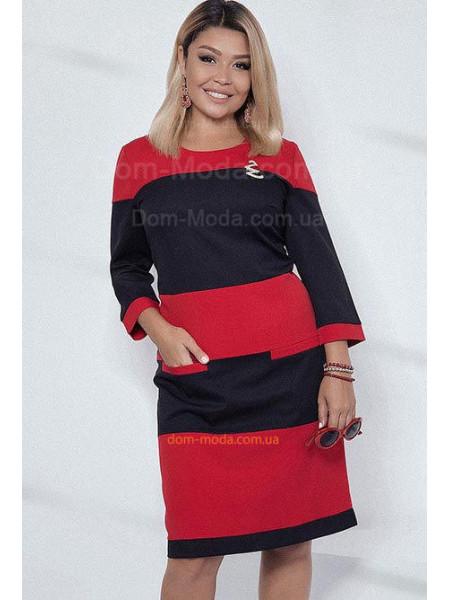 c0a889601d1d5d Двокольорове плаття з рукавом Двокольорове плаття з рукавом КУПИТИ ОНЛАЙН