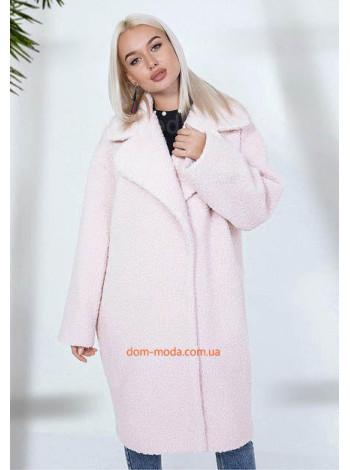 """Модное пальто свободного кроя """"Букле"""""""