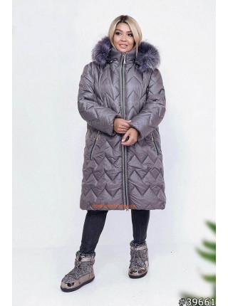 Модний жіночий пуховик великого розміру Модний жіночий пуховик великого  розміру 4440b2fa65536