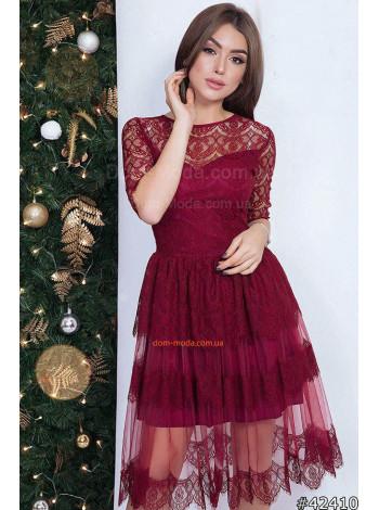 """Женское вечернее кружевное платье """"Ты романтичная"""""""