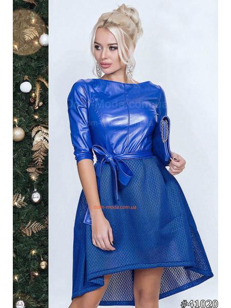 Жіноче екстравагантне плаття зі вставками шкіри Жіноче екстравагантне плаття  зі вставками шкіри КУПИТИ ОНЛАЙН 60c73b3d34ca9