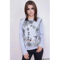 Модный свитшот женский с принтом