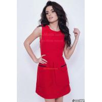 Модное женское летнее платье для офиса