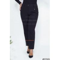 Жіночі класичні брюки чорного кольору великого розміру