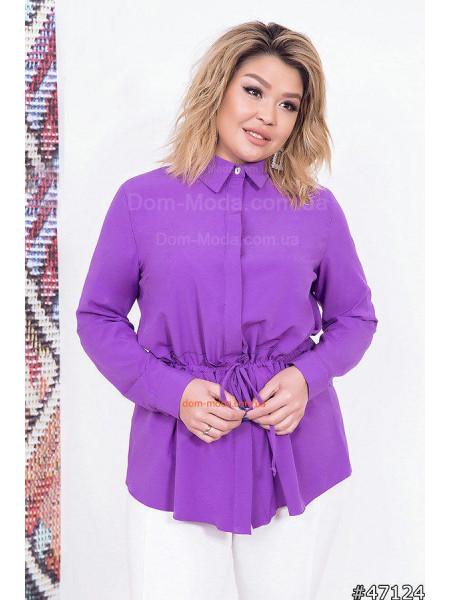 Вільна жіноча сорочка великого розміру