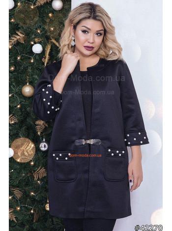 Женское модное пальто кардиган