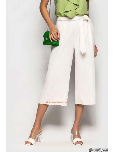 Летние брюки кюлоты для женщин