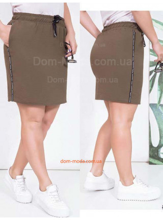 Короткая летняя юбка большого размера