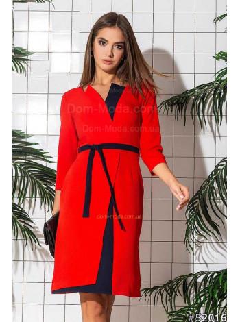 """Женское деловое модное платье """"Лира"""""""