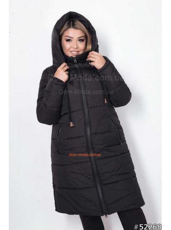 """Жіноча тепла куртка великого розміру """"Сова"""""""