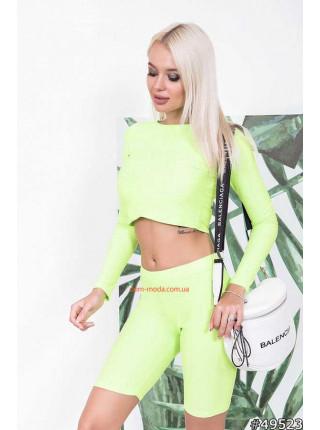 Жіночі модні шорти з топом