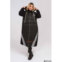 Модное пальто кардиган большого размера