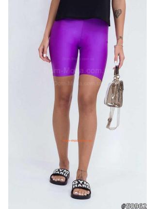 Жіночі спортивні обтягуючі шорти
