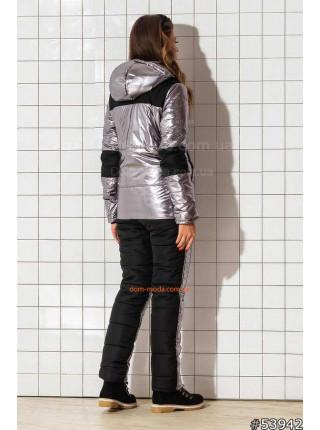 Женский теплый горнолыжный костюм