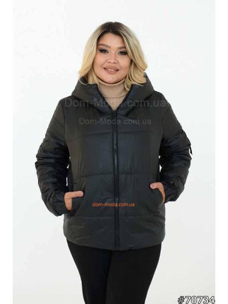 Куртка жіноча демісезонна батал