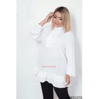 Вільна жіноча блузка на повну фігуру