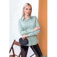 """Женская классическая рубашка с рукавом """"Коттон"""""""