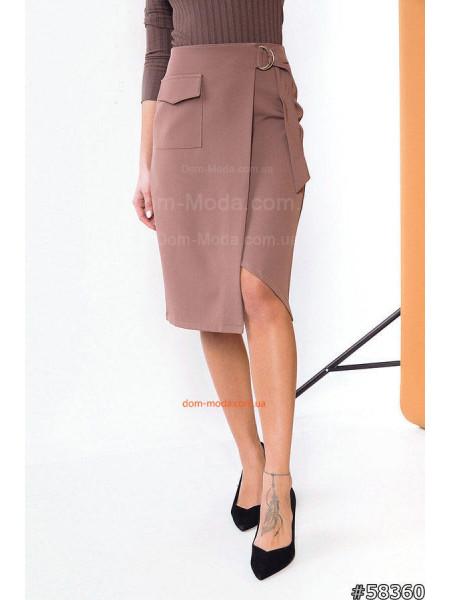 Элегантная юбка с запахом