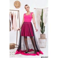 Жіноче вечірнє максі плаття на бретелях