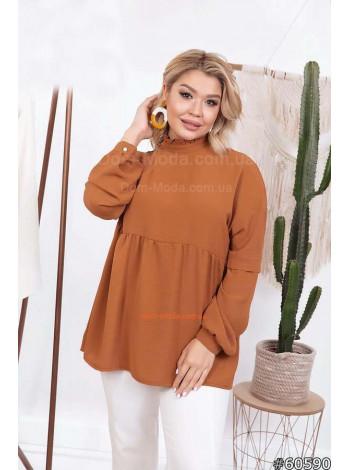 Блузка большого размера
