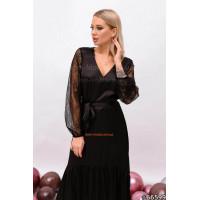 Женское коктельное платье с кружевом