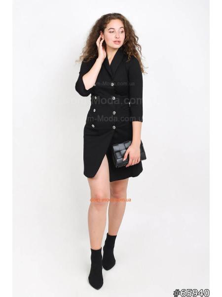 Плаття піджак з гудзиками