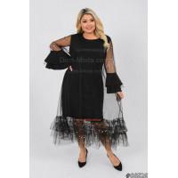 Жіноча вечірня сукня великого розміру