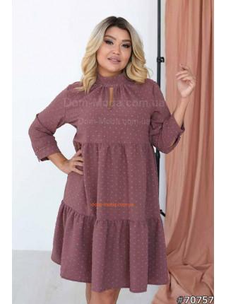 Красивое платье на полную фигуру с животом