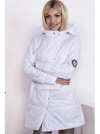 """Женская удлиненная куртка с капюшоном """"Одри"""""""