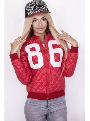 """Женская короткая стильные куртка """"86"""""""