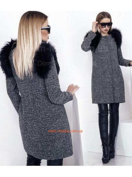 """Женское модное пальто жилетка """"Бай"""""""