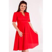 Красивое платье женское для полных женщин