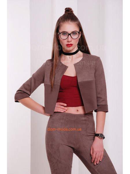 Женский укороченный пиджак куртка
