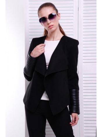 Короткий женский кашемировый пиджак
