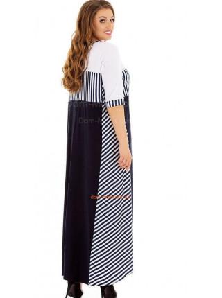 Платье женское макси батал