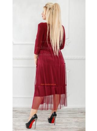 Нарядне плаття жіноче для повних дівчат