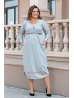 Красиве трикотажне плаття для повних дівчат