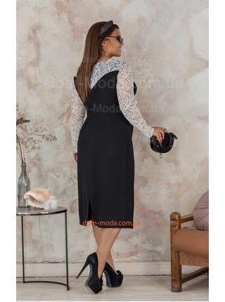 Вечернее женское платье для пышных девушек