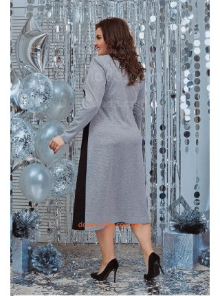 Женское платье с рукавом большого размера