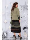 Жіноче плаття міді із мереживом великого розміру