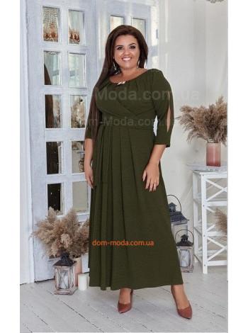 Красивое платье в пол большого размера