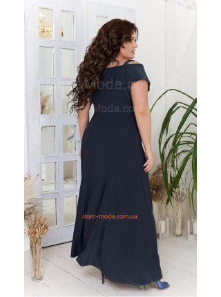 Вечернее длинное платье для полных девушек