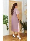 Вечірнє літнє плаття за коліно великого розміру