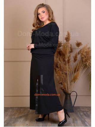 Нарядний костюм для повних жінок