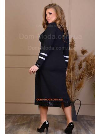 Чорна красива сукня великого розміру