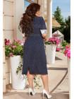 Коротке гарне плаття з рукавом великого розміру