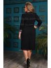Жіноча чорна вечірня сукня