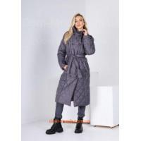 Модне зимове пальто з плащової тканини