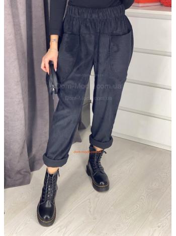 Модные женские вельветовые брюки