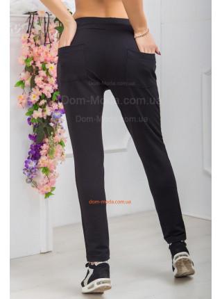 Черные спортивные штаны женские
